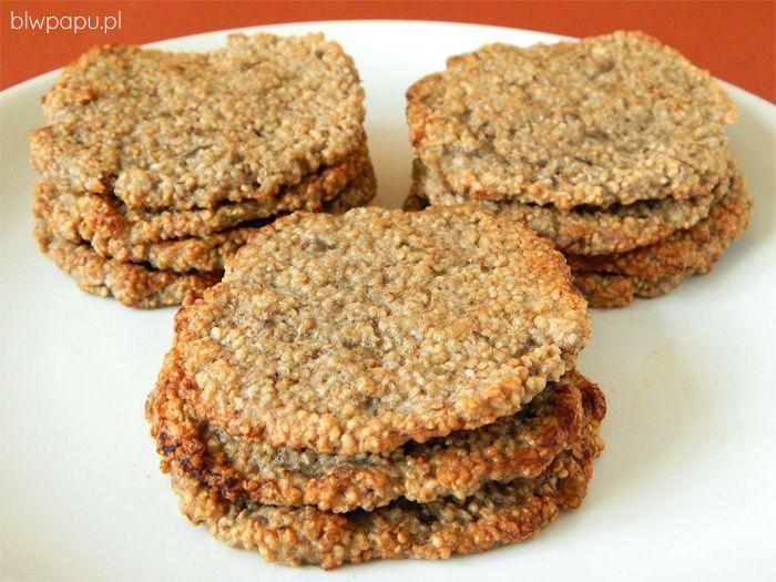 Amarantuski - proste i błyskawiczne ciasteczka BLW
