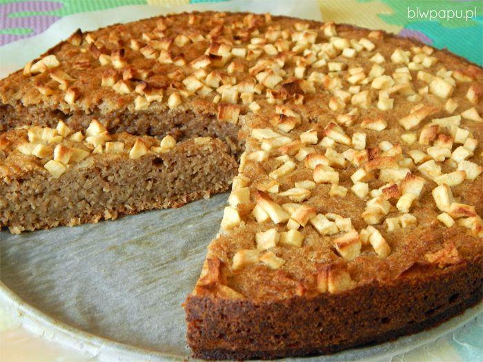 Ciasto z wiórkami kokosowymi, bez cukru, dla dzieci