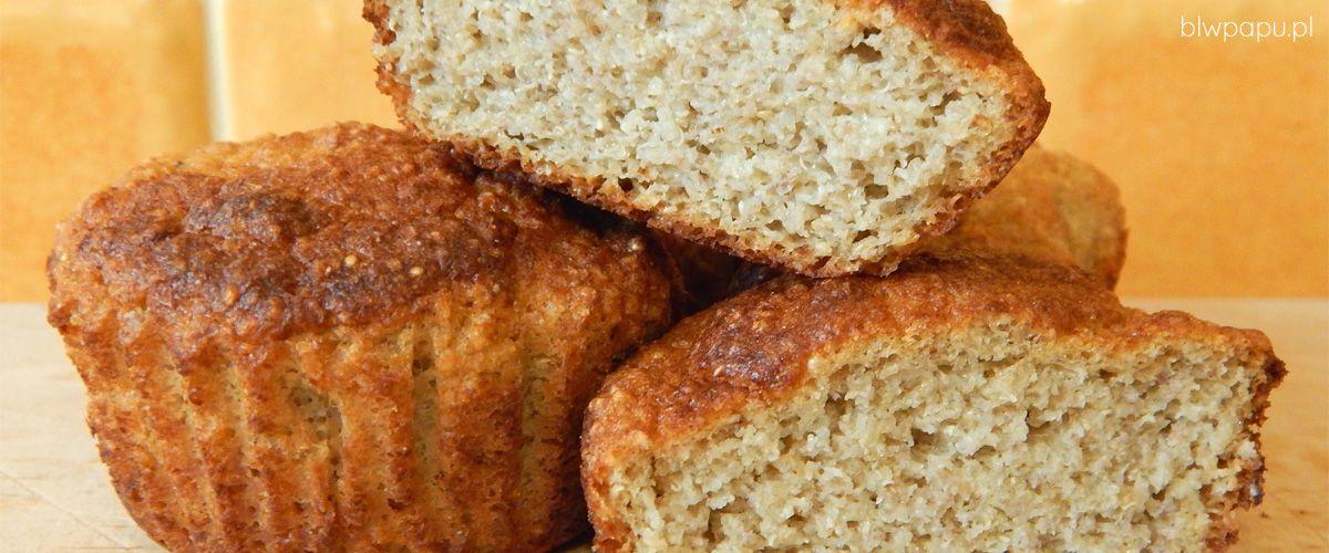 Muffinki gruszkowe z amarantusem, bez glutenu