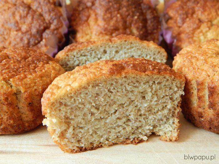 Puszyste muffinki gruszkowe z amarantusem, bezglutenowe