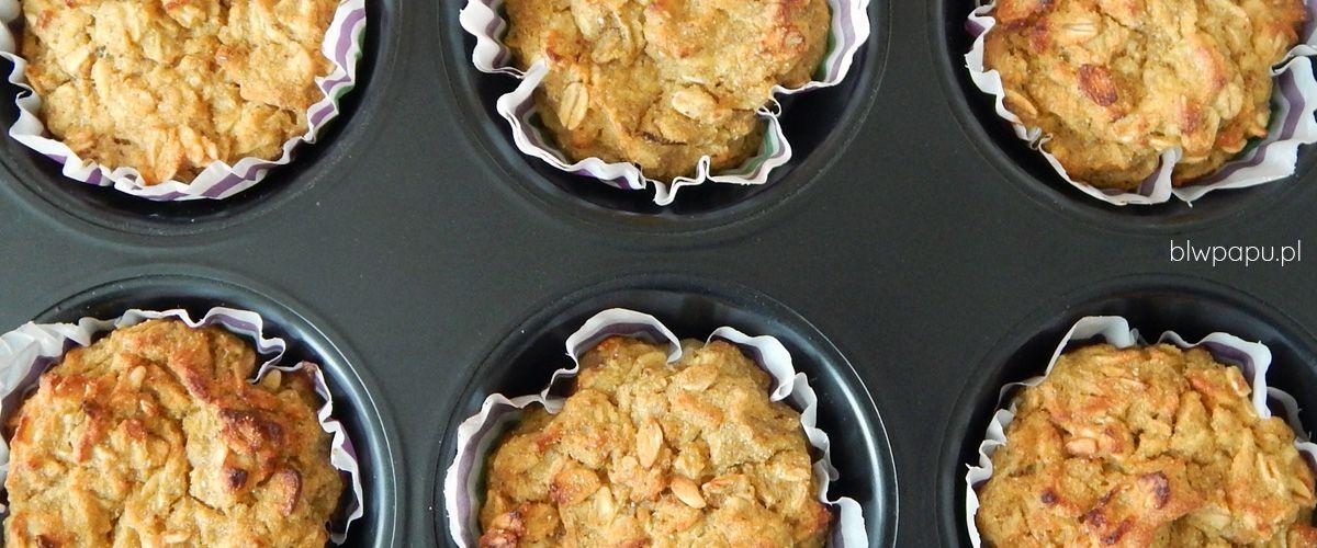 Muffinki owsiane z dynią i jabłkiem