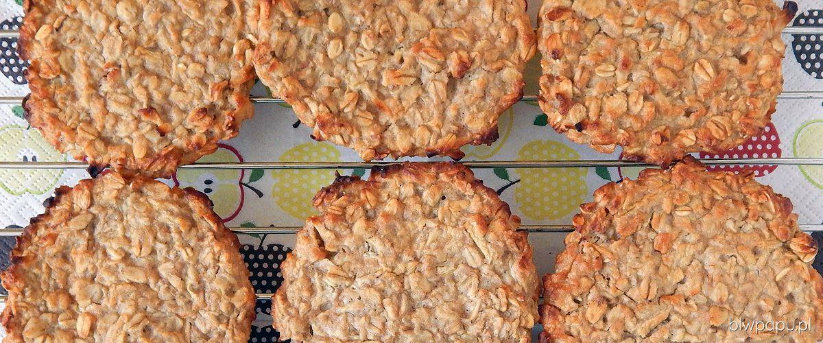 Pieczone placki owsiane z jabłkiem, gruszką i cynamonem