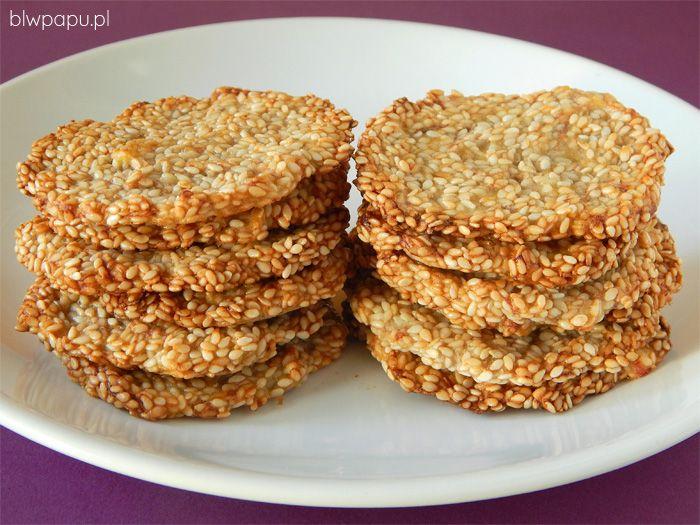 Sezamki - proste i błyskawiczne ciasteczka BLW