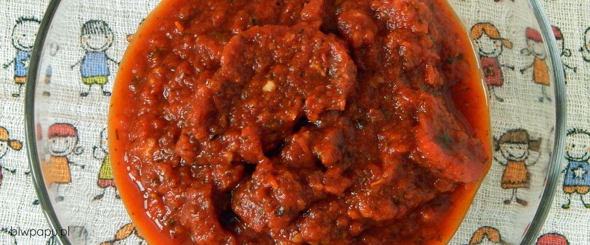 Sos pomidorowy z przecieru
