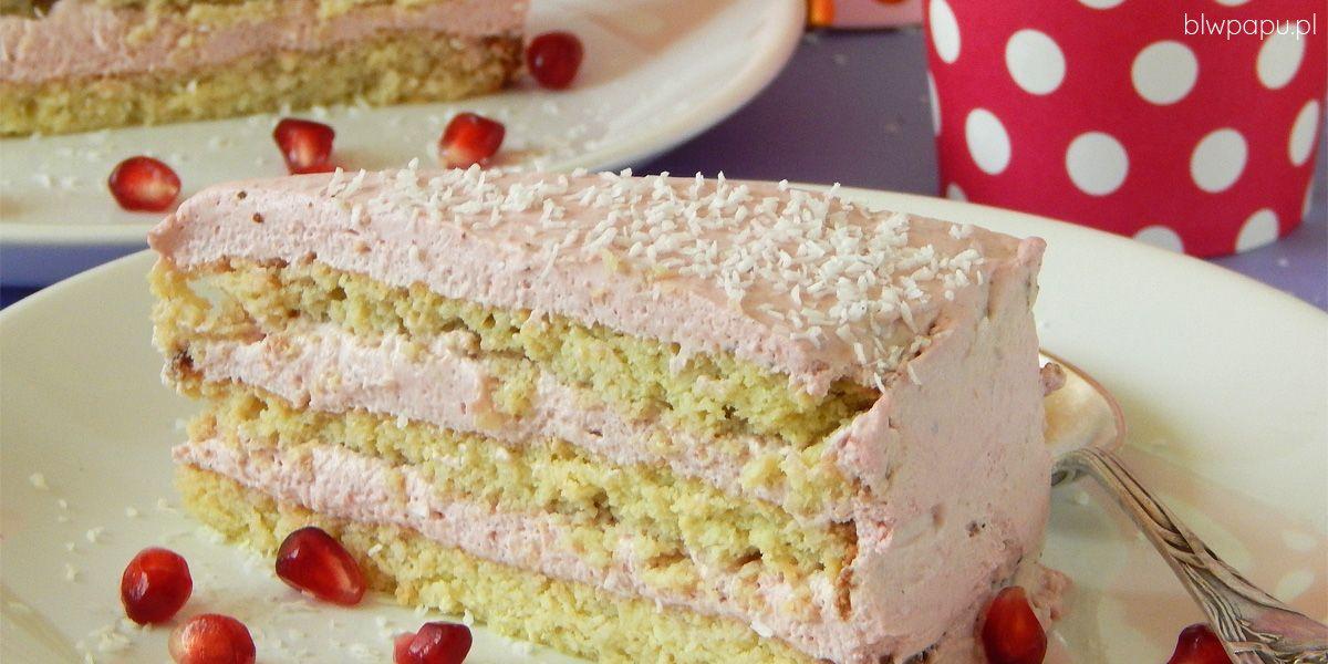 Tort urodzinowy bez cukru - na roczek, dwa latka i każde kolejne urodziny